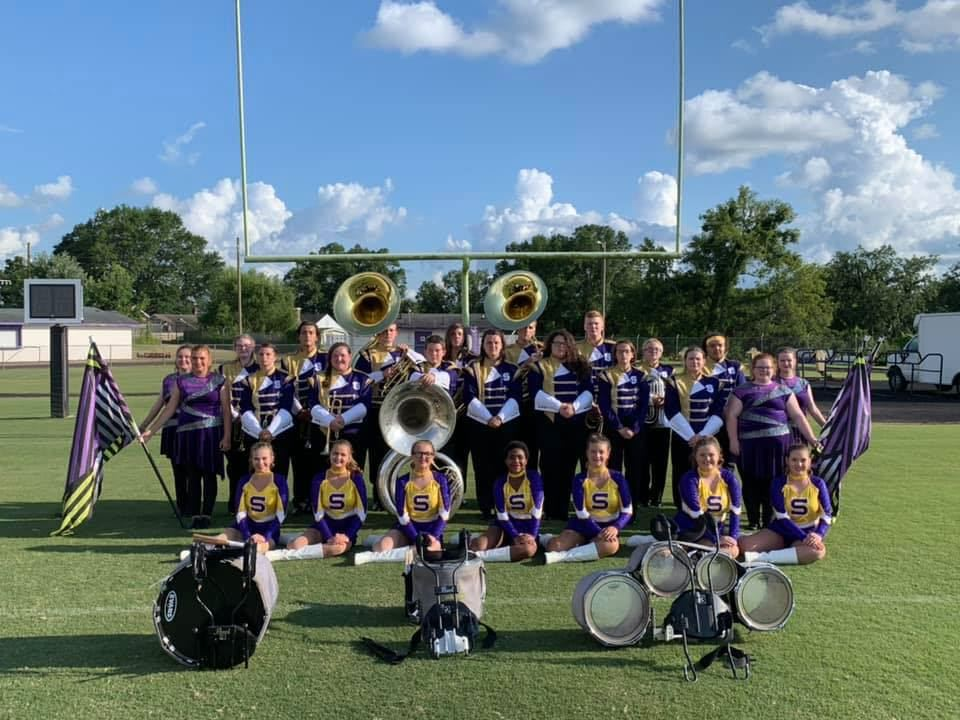 The 2019 Sheffield Sound of the Shoals Marching Band