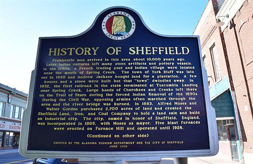 History of Sheffield